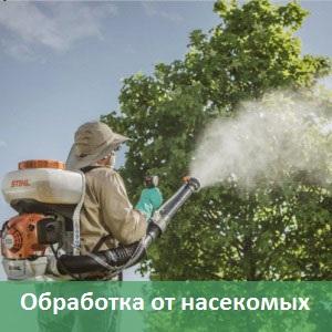 обработка от насекомых